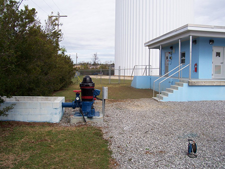 Wellfield #2 for Baldwin County Public Water System